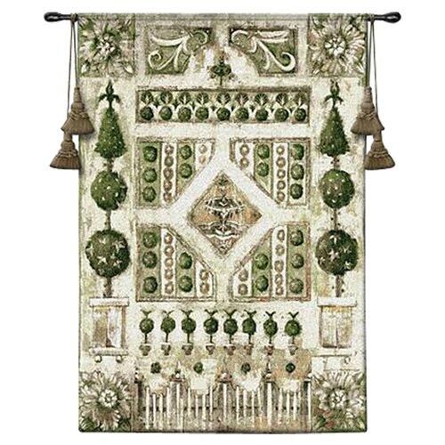 Fine Art Tapestries Garden Gate Tapestry