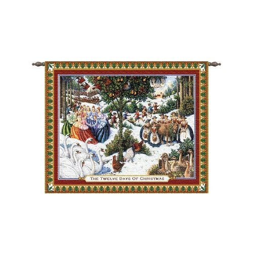 Pure Country Weavers Twelve Days of Christmas Tapestry