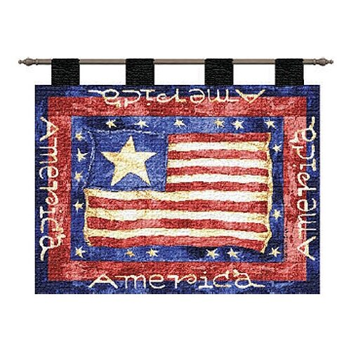 Pure Country Weavers Old Glory Tapestry