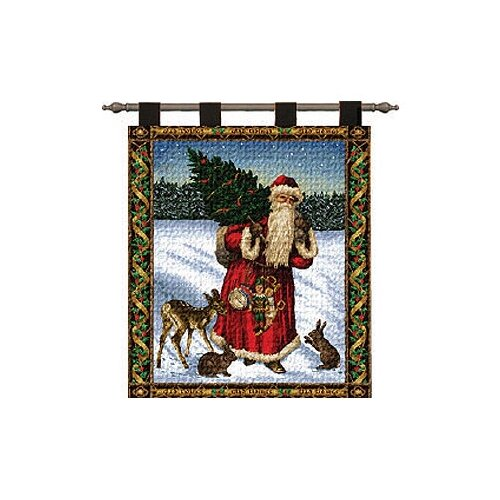 Pure Country Weavers Father Christmas Tapestry