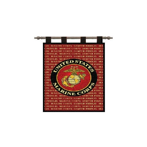 Pure Country Weavers Semper Fi Tapestry