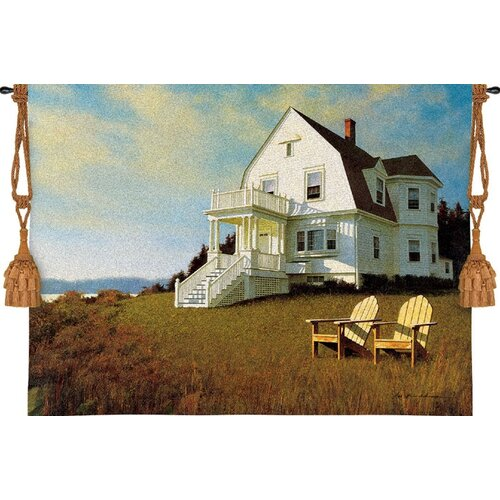 Pure Country Weavers Oceanfront View Tapestry
