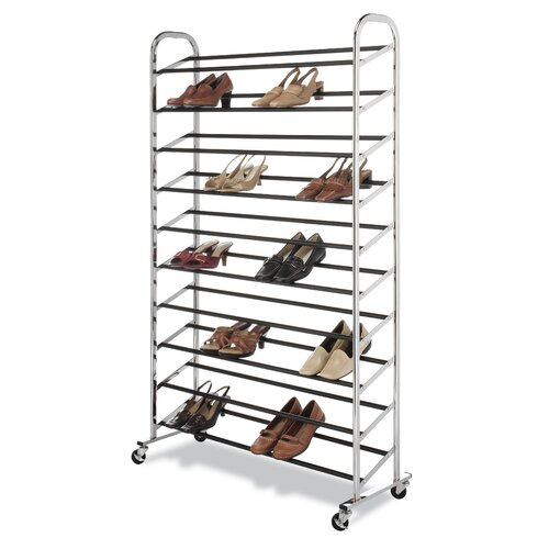 Whitmor, Inc 50 Pair Shoe Rack