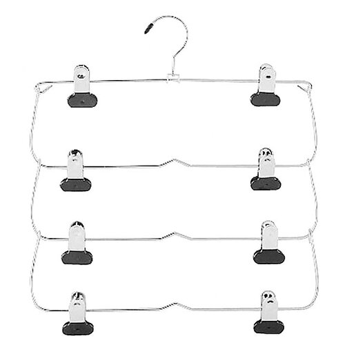 Whitmor, Inc 4 Tier Folding Skirt Hanger
