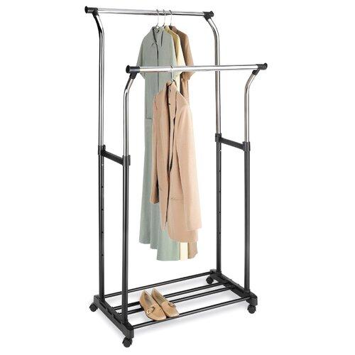 """Whitmor, Inc 68"""" H x 34.75"""" W x 22"""" D Garment Rack"""