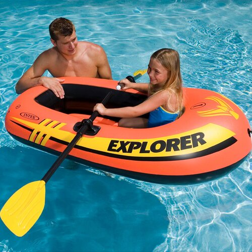 Intex Explorer 100 One Person Boat Pool Toy