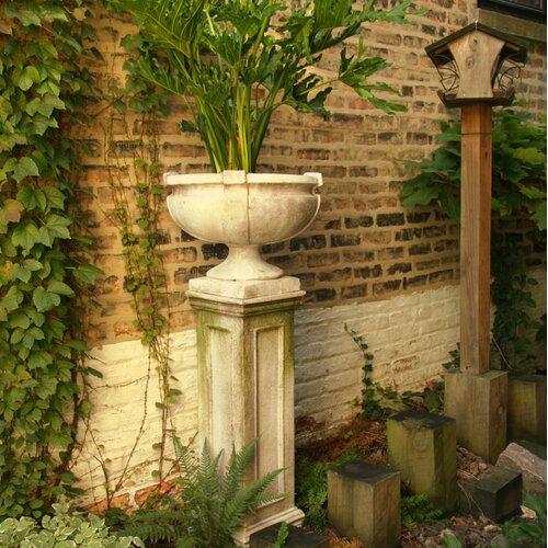 OrlandiStatuary Smooth Strap Urn Planter