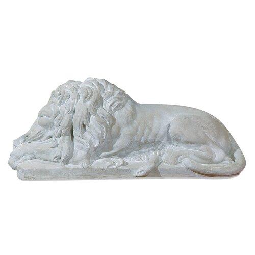 OrlandiStatuary Animals Sleeping Lion Statue