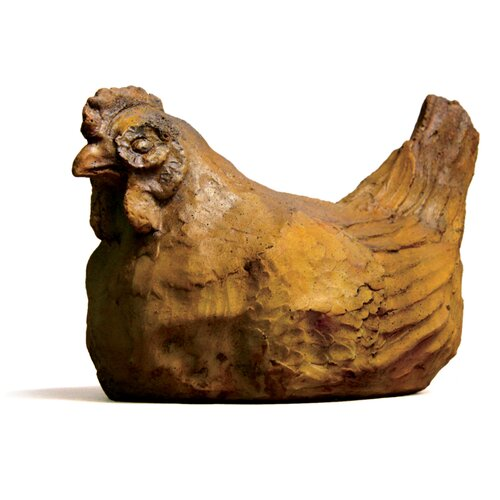 OrlandiStatuary Animals Hen Statue