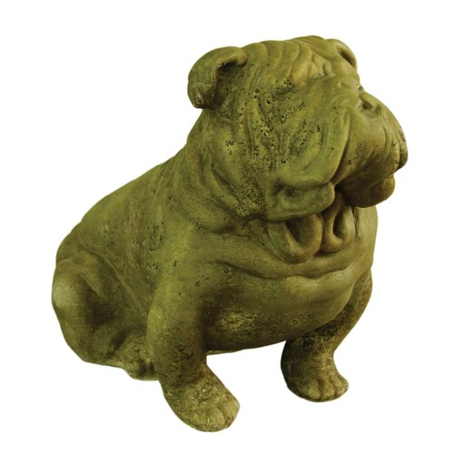 OrlandiStatuary Animals Brutus Bull Dog Statue