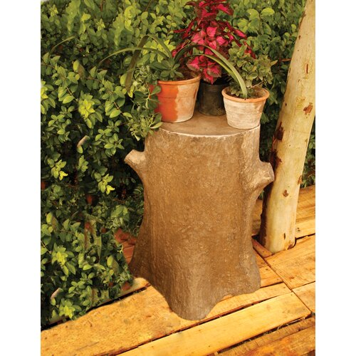 Tree Trunk Outdoor Pedestal