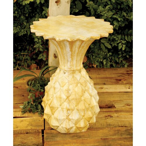 Pineapple Stand Outdoor Side Table