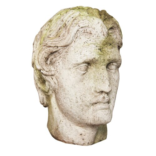OrlandiStatuary Alexander the Great Head Statue