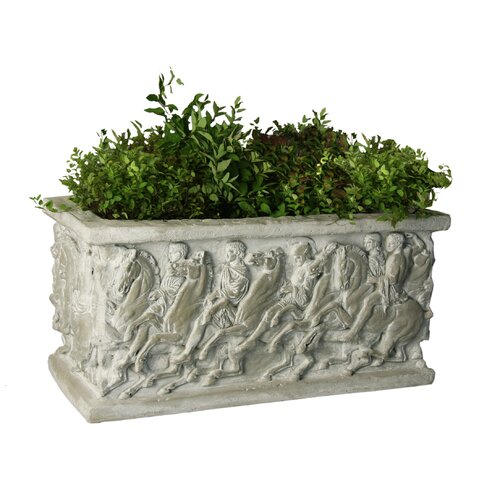 Planter Rectangular Parthenon Pot