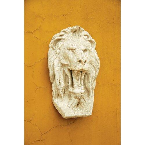 OrlandiStatuary Grotesque Lion Mask Wall Decor