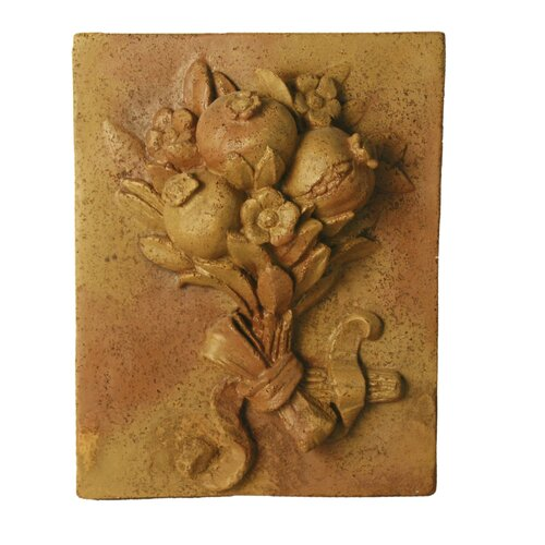 OrlandiStatuary Pomegranate Harvest Frieze Wall Decor