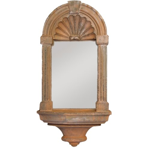 OrlandiStatuary Classical Niche Mirror Wall Decor