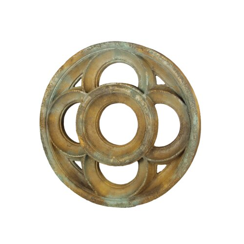 OrlandiStatuary Four Lobed Framework Wall Decor