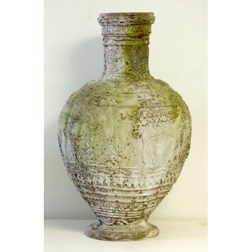 Egyptian Round Vase Planter