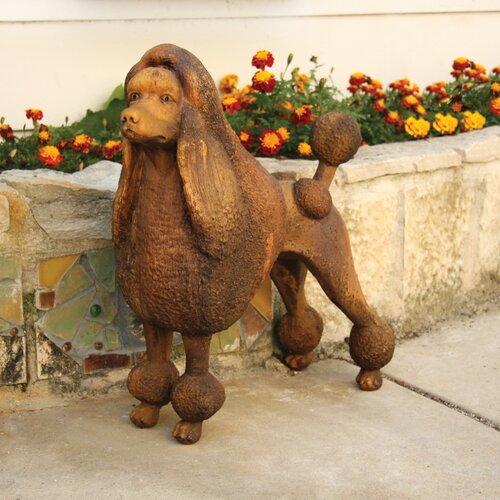 OrlandiStatuary Animals Fifi The Poodle Garden Statue