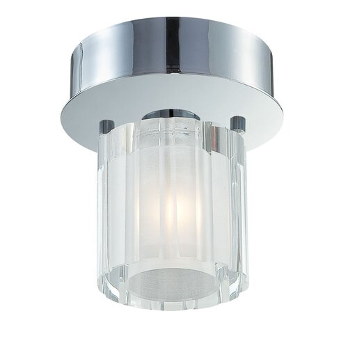 Alico Tiara 1 Light Flush Mount