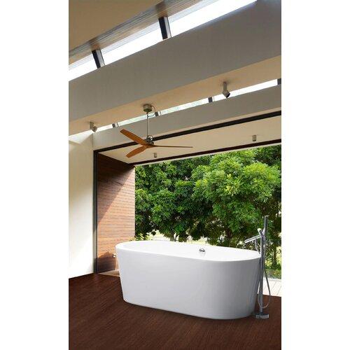 "Aquatica PureScape 71"" x 33"" Freestanding Acrylic Bathtub"