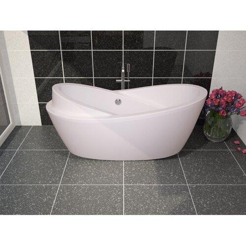 "Aquatica PureScape 69"" x 34"" Freestanding Acrylic Bathtub"