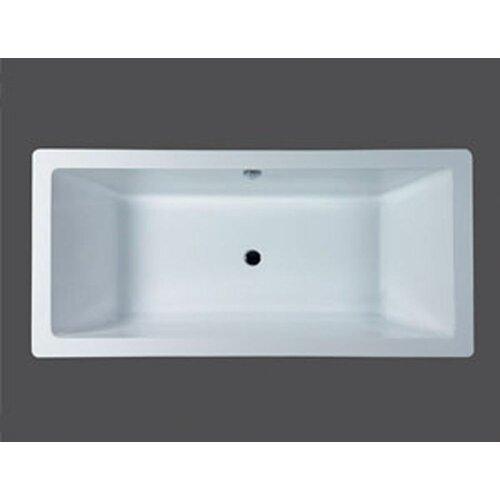 """Aquatica PureScape 70.75"""" x 33.5"""" Bathtub"""