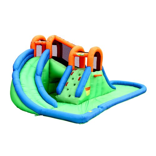 Bounceland Inflatable Island Water Slides