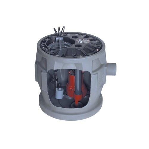 Liberty Pumps 1/2 HP Simplex Sewage System