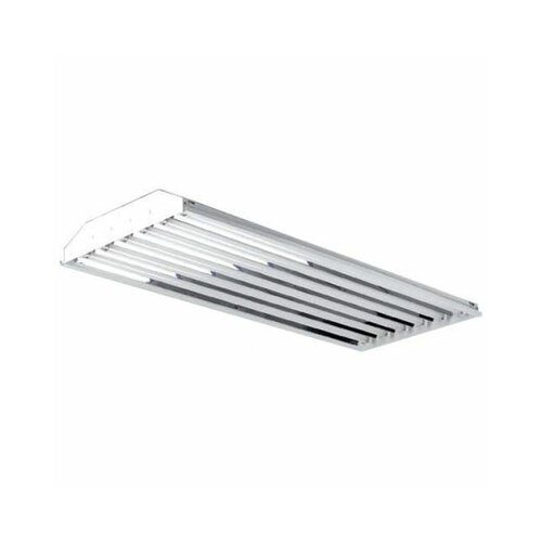 Barron Lighting Six Light T8 High Bay Lighting in High Gloss Enamel