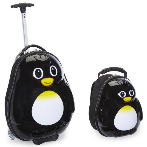2 Piece Percy Penguin Children's Luggage Set