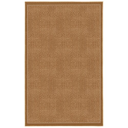 Mohawk Home Casual Concepts Tiger Patch Apple Butter Rug