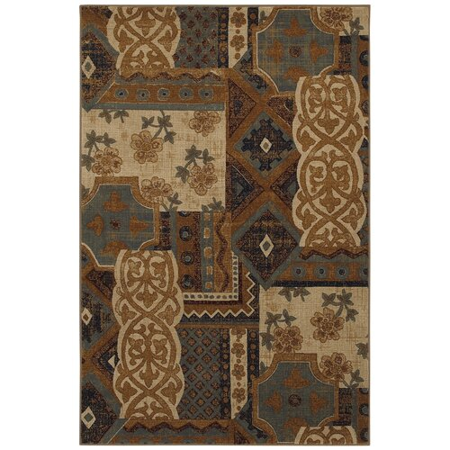Mohawk Home Select Versailles Royal Entrance Blue Rug