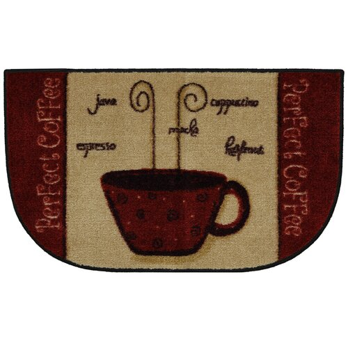 Mohawk Home New Wave Perfect Coffee A Novelty Rug