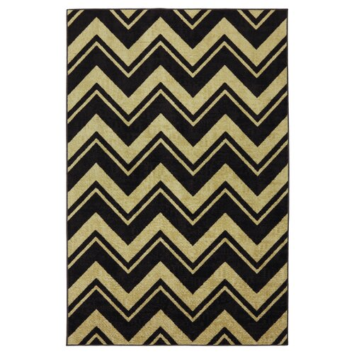 Strata Neutral Lascala Chevron Stripe Rug