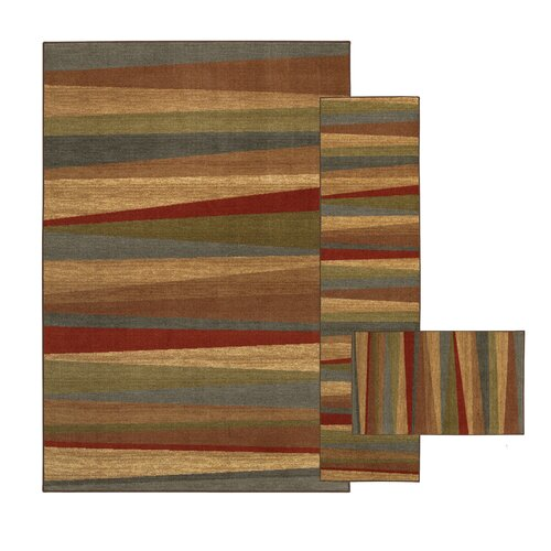 New Wave Mayan Sunset Sierra Rug (Set of 3)