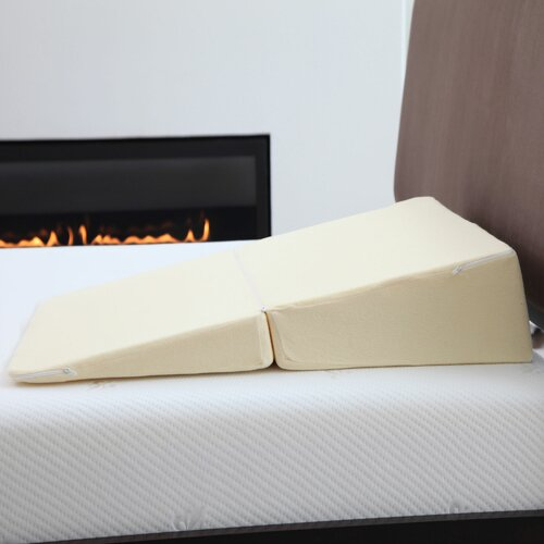 Remedy Natural Pedic Folding Wedge Memory Foam Pillow