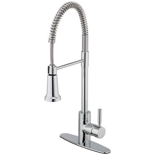 Forza One Handle Centerset Bar Kitchen Faucet