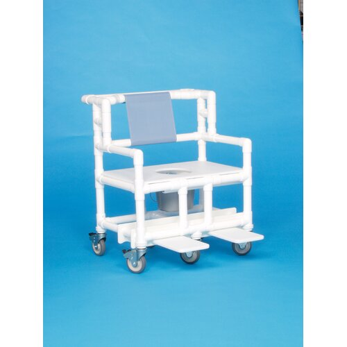 Bariatric Shower Commode with 28