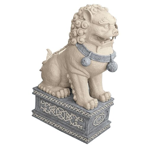 Design Toscano Giant Foo Dog of The Forbidden City Statue