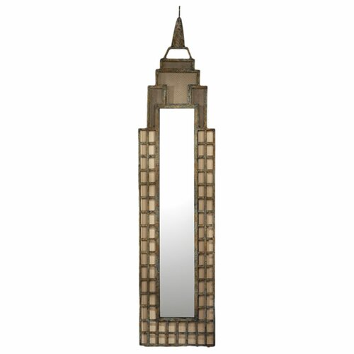 Design Toscano Art Deco  Skyscraper Wall Mirror