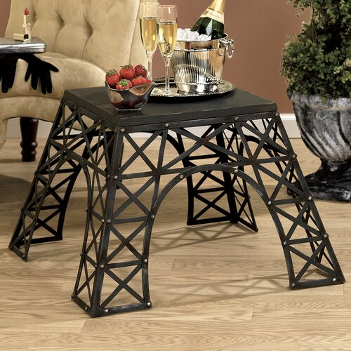Design Toscano Eiffel Tower End Table