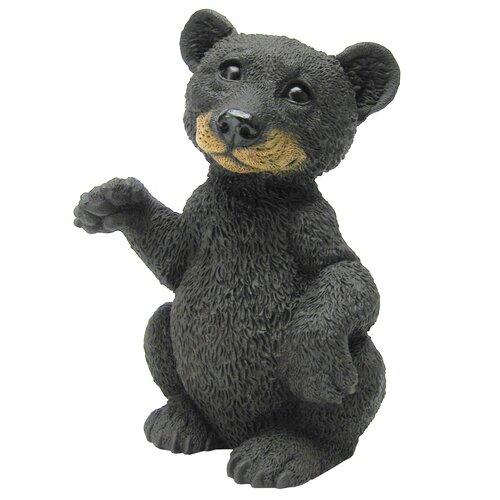 Standing Little Bear Cub Statue