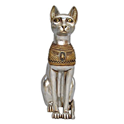Design Toscano Egyptian Cat Goddess Bastet Statue