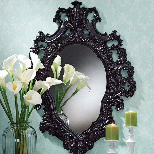 Madame Antoinette Ebony Salon Mirror
