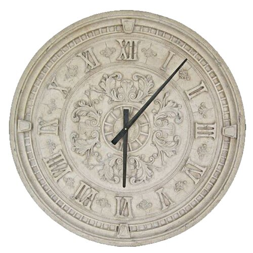 Grande oversized 335quot train station wall clock wayfair for Train station style wall clock