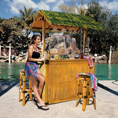 Tiki Bar Set