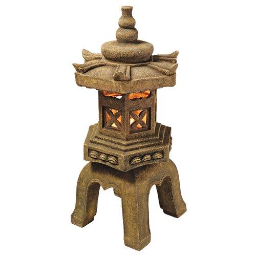 Sacred Pagoda Lantern Illuminated Statue