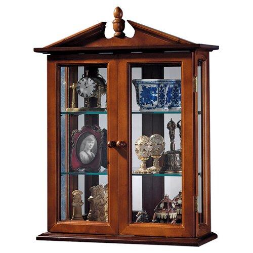 Design Toscano Amesbury Manor Wall Curio Cabinet